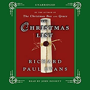 The Christmas List Audiobook