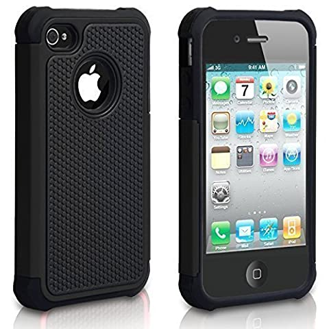 iPhone 4 Case, iPhone 4S Case, CHTech Shockproof Durable Hybrid