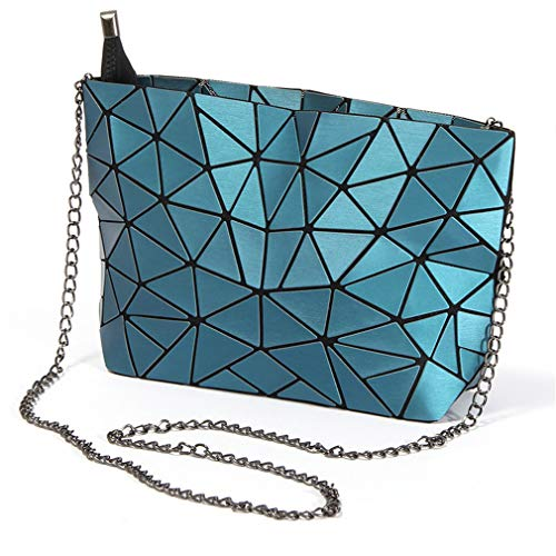 Chain Bag Blue Color Ladies Clutch Bag Color Messenger Chain 4nq0RE