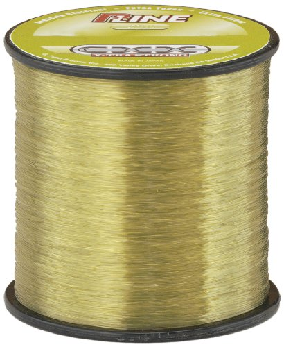 P-Line CXX-Xtra Strong 1/4 Size Fishing Spool (600-Yard, 15-Pound, Moss Green)