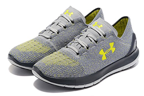 Shoe Gray Armour 5 Under Black Glacier Flash Black Speedform Stealth Running Gray Overcast Gray 6 Slingride Light Men's rOXPqRdX