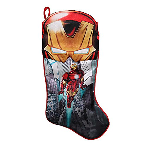 Disney 19in Marvel Iron Man Printed Stocking