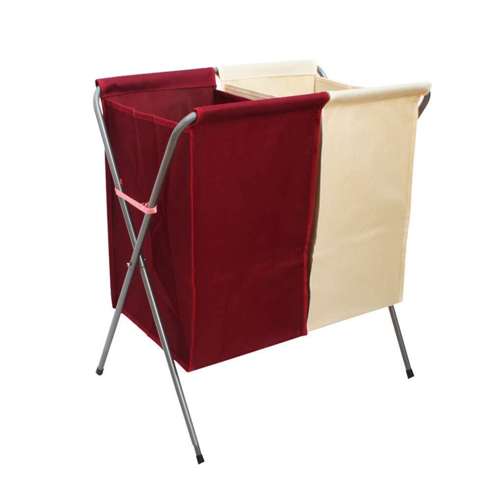 LTS 収納バスケット折りたたみオックスフォード布ダブルメッシュ分類収納バスケット防水洗濯かご収納バスケット 収納バスケット (Color : B) B07PYTRJ35 B