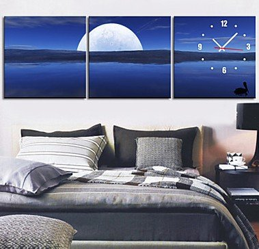 30cm Luminous Wall Stickers Moonlight Home Decor Yellow - 6