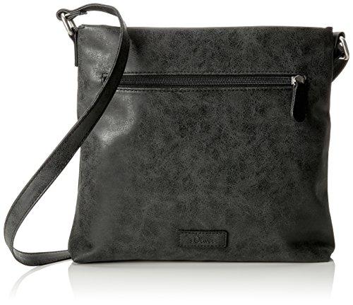 s.Oliver (Bags) City Bag - Bolsos bandolera Mujer Negro (Black)