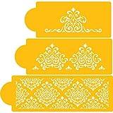 Designer Decorating Cake Stencil, Elaine's Cake Set