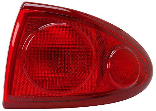 hevrolet Chevy Cavalier Rear Tail Light Taillamp Assembly Passenger Right Side Replacement GM2801160 ()