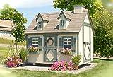 Little Cottage Company Cape Cod DIY Playhouse Kit, 6' x 8'