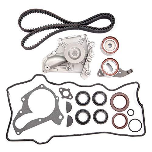 Kit 2l Belt Timing (ECCPP Timing Belt Water Pump Kit Fit for 1987-2001 Toyota Camry Celica RAV4 Solara 2.0L 2.2L DOHC 3SFE 5SFE)