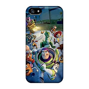 Scratch Protection Hard Phone Covers For Iphone 5/5s With Unique Design Stylish Toy Story 3 Image JonathanMaedel