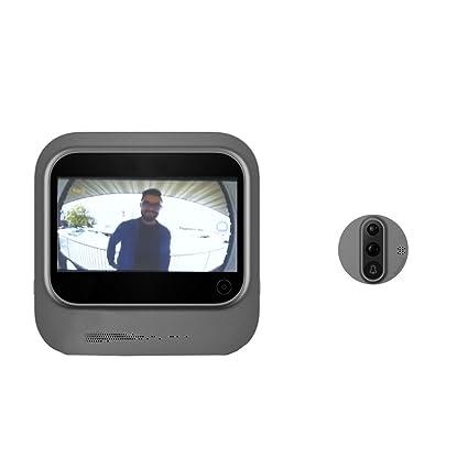 Mirilla de puerta Digital Wi-Fi con pantalla táctil y vídeo interfono Eques R26 veiu