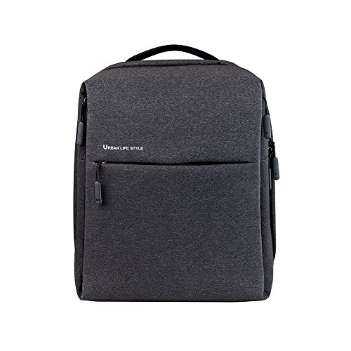 Xiaomi Shoulder Backpack Urban Life Style Bags Rucksack Daypack Schoolbags Duffel Portable Travel Office Bag Business Trip Gifts for 14 Inch Laptop PC (Black)