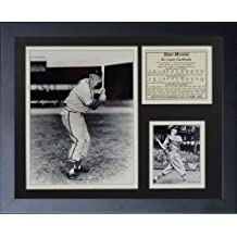 "Legends Never Die ""Stan Musial"" Black and White Framed Photo Collage, 11 x 14-Inch"