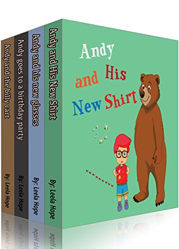Children's Book Set : Andy Series: stories for kids to read by age by [Hope, Leela]