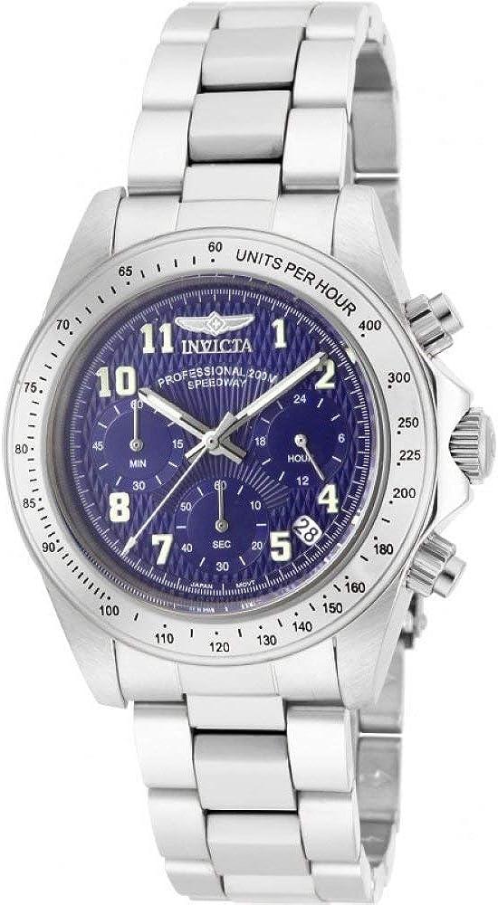 Invicta Men s 17024 Speedway Analog Display Japanese Quartz Silver Watch