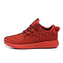 Zping ® Yeezy Boost 350 Men Couple Casual Fashion Sneakers Breathable Athletic Sports Shoes Running Shoes