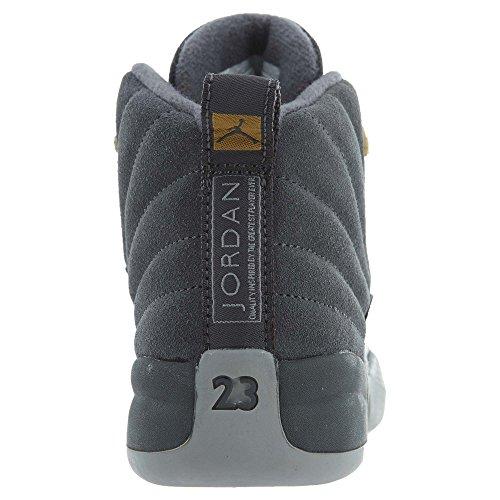 Jordan 12 Sneakers Bambino Retro Bp 151186-400 Grigio Scuro / Grigio Scuro / Grigio Lupo