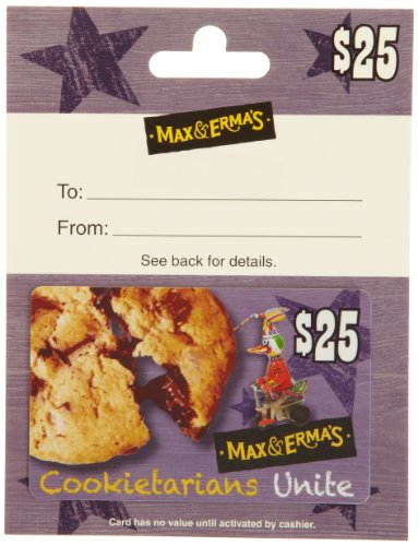 Max & Erma's Gift Card $25