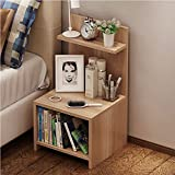 Cr Wood Nightstand Bed End Side Table Bathroom Cabinet