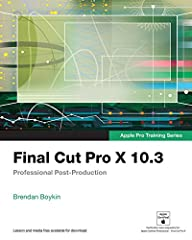 The Apple-Certified Way to Learn  This fully updated Apple-certified guide presents a real-world workflow from raw media to finished project to demonstrate the features of Final Cut Pro X 10.3 and the practical techniques you will use in edi...