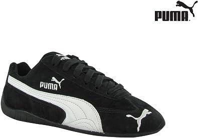 Amazon.com | PUMA WOMENS SPEED CAT BLACK WHITE SIZE 7.5 ...