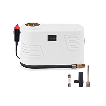 Inflador de neumáticos digital portátil para coche, compresor de aire 12 V CC 150 PSI