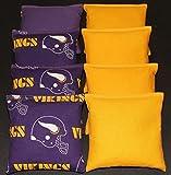 8 MINNESOTA VIKINGS Cornhole Bean Bags
