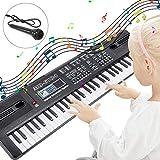 RenFox Piano Keyboard 61-Key Portable Keyboard