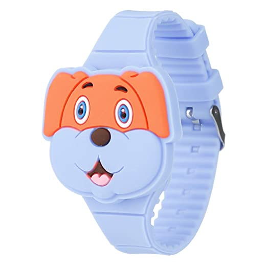 Reloj Infantil Digital Electrónico Nino Niña de Silicona de Moda Dibujos Animados Animal LED Pantalla Reloj de Pulsera: Amazon.es: Relojes