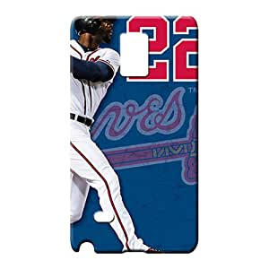 samsung note 4 Collectibles New Style Forever Collectibles phone cover shell atlanta braves mlb baseball
