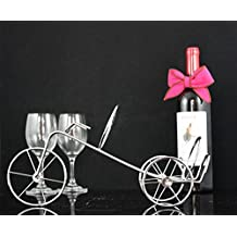 MA Wire products bicycles-antique brass wine rack Home Office premium wine rack