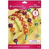 Simplicity American Girl Crafts Daisy Flower DIY Bracelet Making Kit for Girls, 774pc