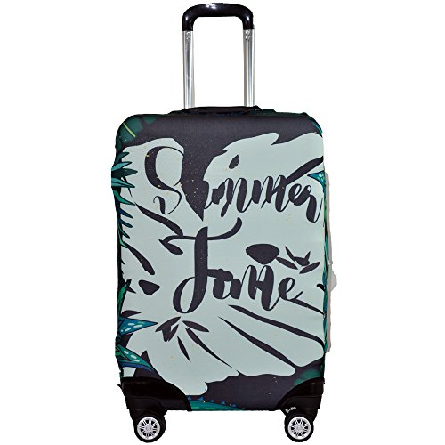 bf9d02ee634c Galleon - Spandex Luggage Cover Protector Traver- HoJax Suitcase ...
