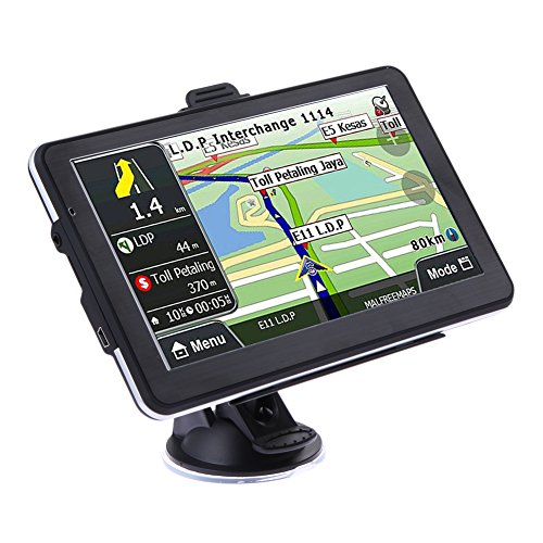 7 inch HD Car Truck GPS Navigator 800MHZ FM/8GB/DDR Maps (Europe,Holyfly