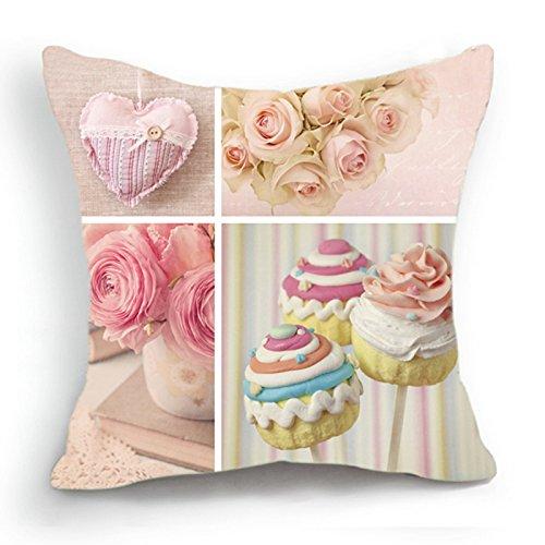 Diseño Retro en una notificación rosa Cupcake en forma de ...