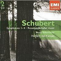 Schubert: Symphonies Nos. 1-4; Rosamunde ballet music / Weber: Der Freischutz Overture