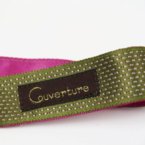 Kuh Bell tulle bonbon strap holder moss green ~ Rose Pink