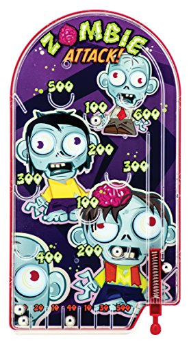 Schylling Zombie Attack Pinball Game, Purple, 10' x 5