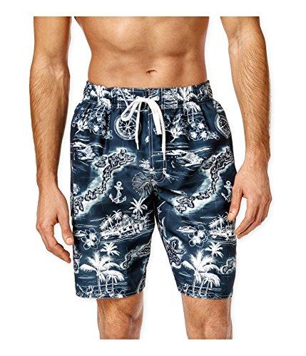 Newport Blue Mens Private Island Swim Bottom Board Shorts navy - Newport Island Fashion