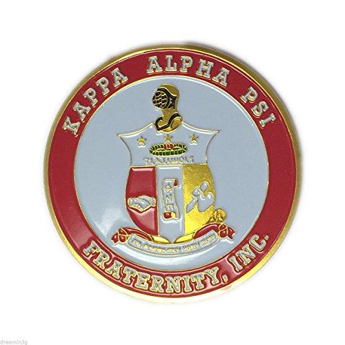 G1345 - Kappa Alpha Psi Aluminum Car Emblem