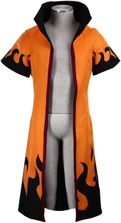 Mtxc Hombre Naruto Cosplay Disfraz Uzumaki Naruto cuarto Tamaño X ...