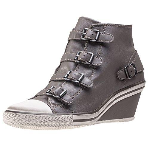 Ash Women Footwear (Ash Womens Genial Perkish Leather Trainers 37 EU)