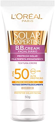 Protetor Solar Facial BB Cream FPS 50 50g, L'Oréal Paris
