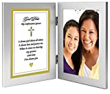 Confirmation Sponsor Gift – Sponsor Thank You Poem in Double Frame - Photo
