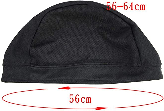 fineshelf Motorcycle Helmet Inner Cap Cycling Moisture Wicking Small Round Cap Quick Dry Breathable for Motorcycle Bicycle Helmet Lining