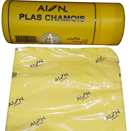 Original Synthetic Aion Kanebo Plas Chamois - Made in Japan - Size: 40 x 30 cm from ION-A4