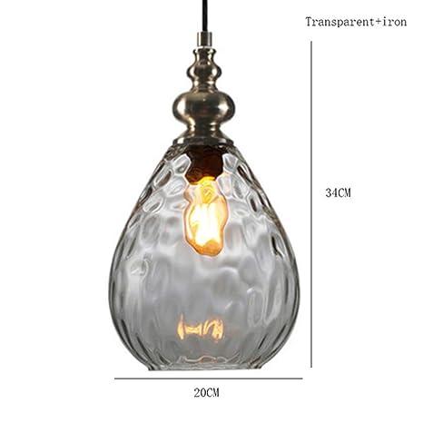 Luces colgantes LED Lámparas colgantes de mimbre de madera ...