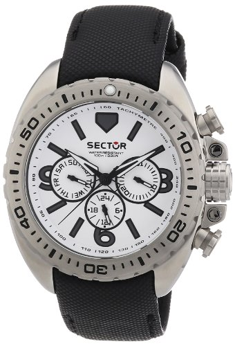 Sector Men's R3251573001 Racing 600 Analog Stainless Steel Watch