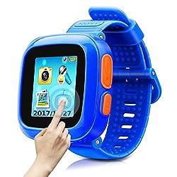 Game Smart Watch of Kids, Girls Watch with Game,Kids Smartwatch with Game Wrist Watch Education Toys Boys Girls Gifts (Dark Blue)