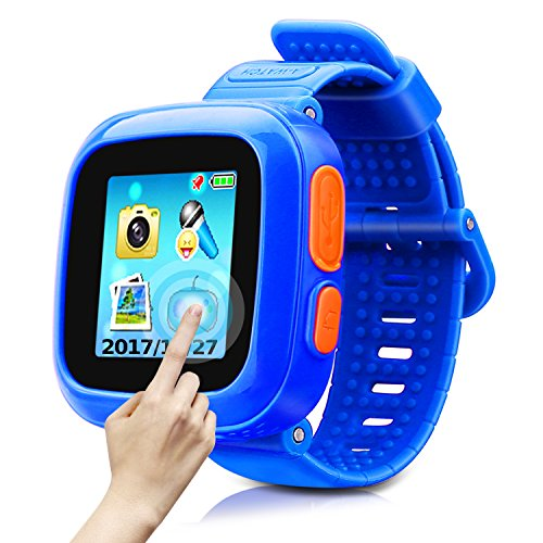 (Game Smart Watch of Kids, Girls Watch with Game,Kids Smartwatch with Game Wrist Watch Education Toys Boys Girls Gifts (Dark Blue))